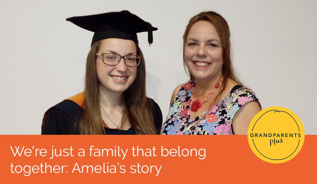 We're just a family that belong together: Amelia's story