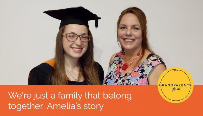 Amelia and her Mam