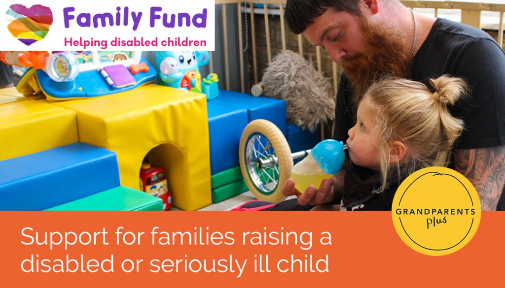 Support for families raising a disabled or seriously ill child