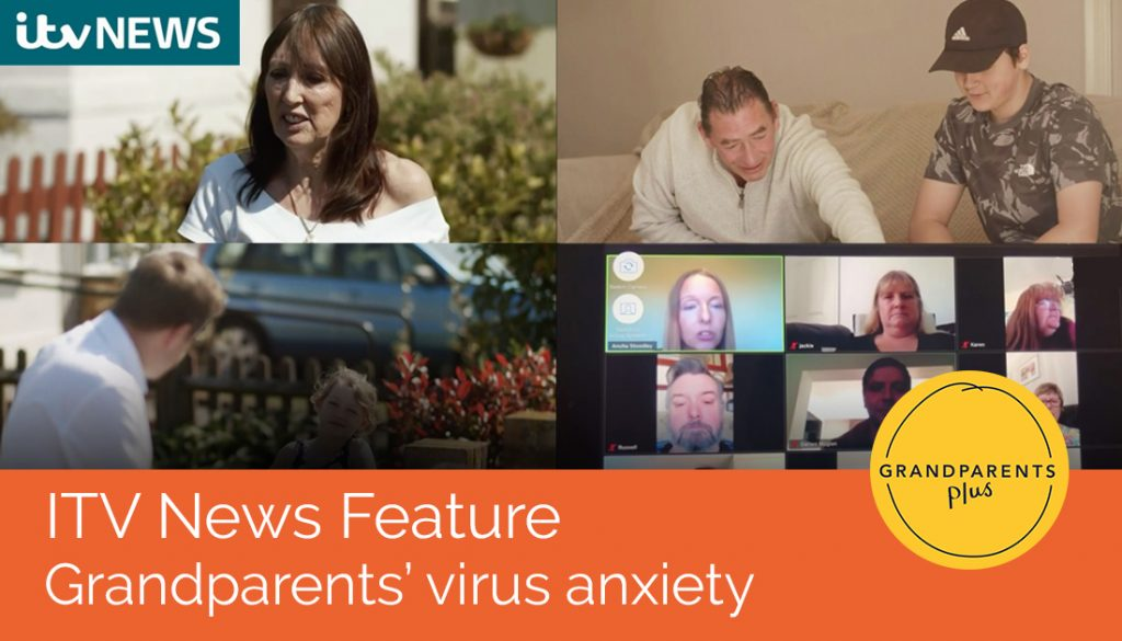ITV News feature: Grandparents' virus anxiety