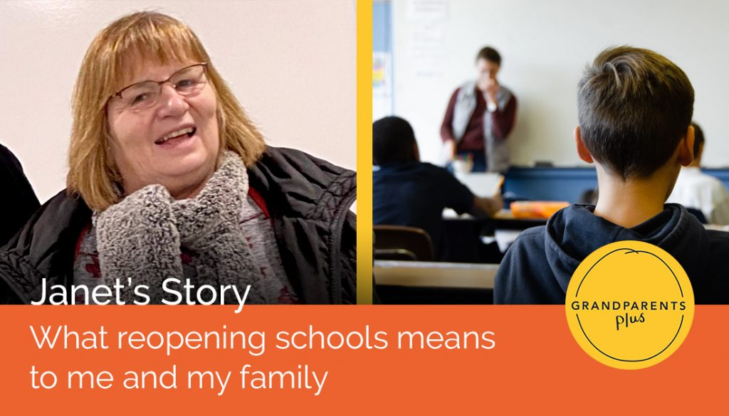 Janet's Story: What reopening schools means to me and my family