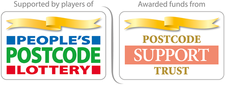People's Postcode Logo, Postcode Support Trust