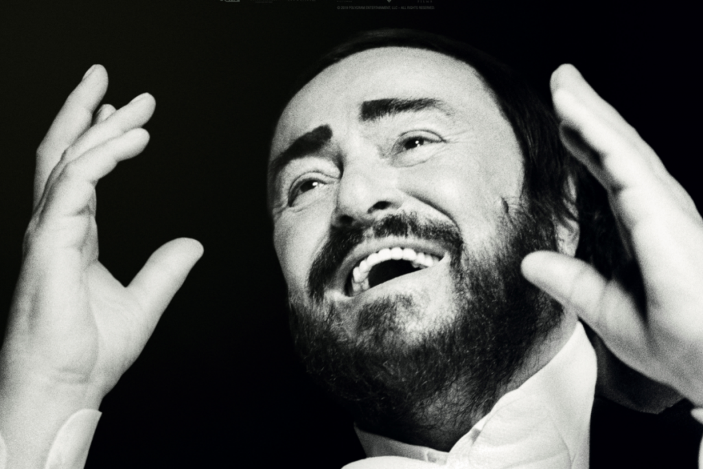Pavarotti on our screens