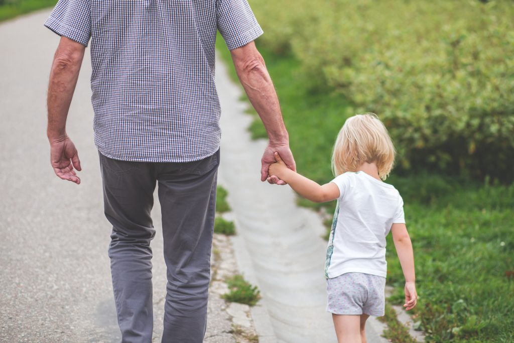 Intergenerational walking routes launched for Grandparents Day