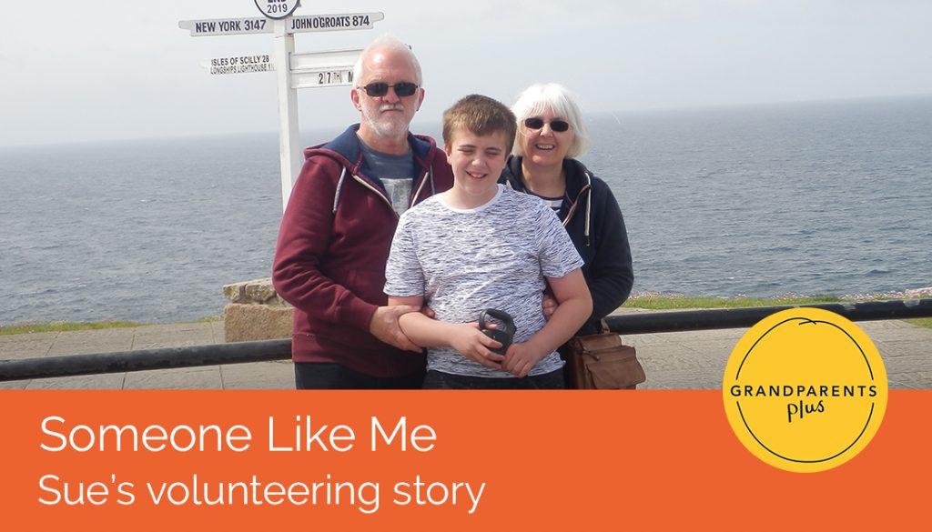 Someone Like Me: Sue's volunteering story