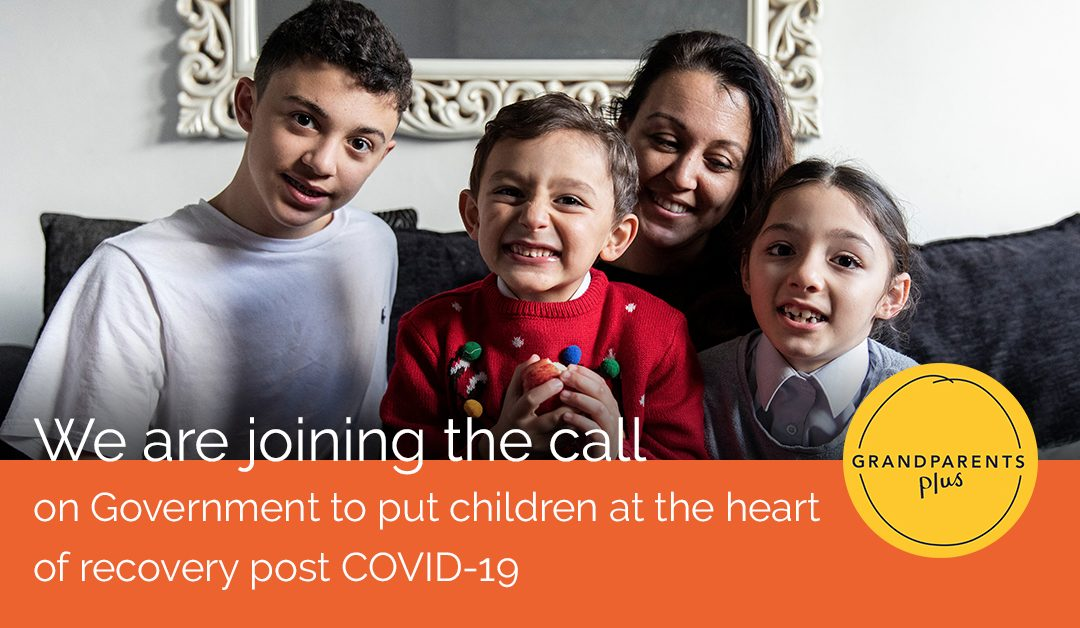 We are joining the call on Government to put children at the heart of recovery post COVID-19