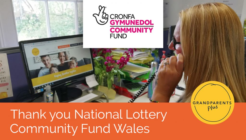 Grandparents Plus would like to thank The National Lottery Community Fund Wales